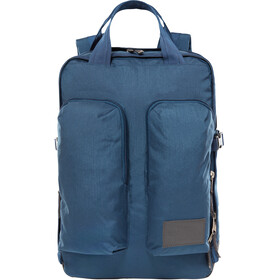 The North Face Mini Crevasse Backpack blue wing teal heather/asphalt grey